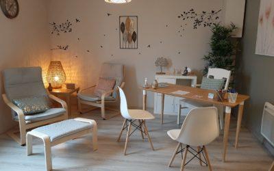 Mon cabinet d'hypnothérapeute à Louviers en photos